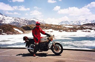 June 10, 1996 - Räterichsbodensee, Grimselpass, Switzerland.  Immediately North of the Grimselpass.