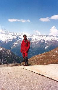 June 11, 1996 - Passo della  Novena a.k.a. Nufenenpass, Switzerland.  More great weather and scenery.