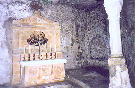 July 01, 1998 - Salzburg, Austria.<br /> <br /> St. Peter's catacombs dating back to the 5th century are within the cliffs at the edge of old Salzburg.