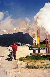 June 25, 1999 - Passo Rolle,  Italy.<br /> <br /> Passo Rolle (1972 m asl) is located on route 50, 22 kilometers east of Predazzo, Italy.