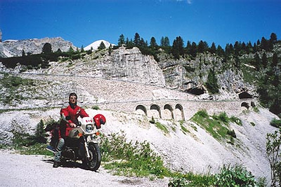 2000 Alps Motorcycle Tour