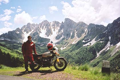 June 17, 2001 - Passo del Vivione, Italy.<br /> <br /> Passo del Vivione and Passo Presolana lie between the towns of Forno Allione and Lovere. This photo was taken 700 meters south of the pass itself.