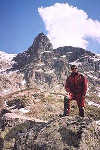 June 14, 2002 - Julierpass, Switzerland.  The view from the Julierpass (2284 m asl).