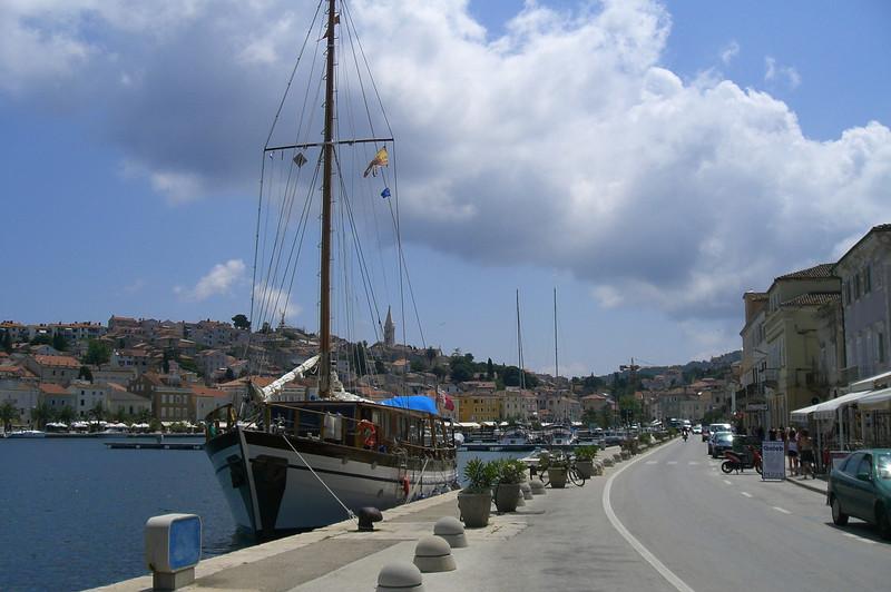 June 14, 2007 - Mali Lošinj on the island of Lošinj, Croatia