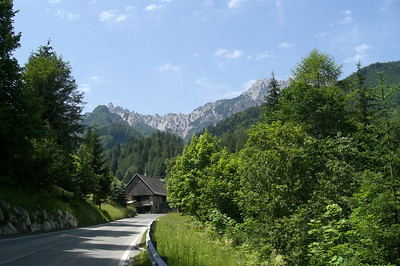 June 20, 2007 - Loibaltal, Austria  Heading south on the B91, a few kilometers before the Loiblpass tunnel.