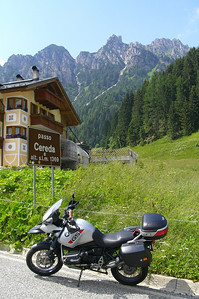 June 22, 2007 - Passo Cereda, Italy  Passo Cereda is located on the S347. One of the many passes in the Dolomites.