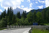 June 19, 2007 - just south of Kranjska Gora, Slovenia<br /> <br /> Just heading out of Kranjska Gora on the 206 to the Vršič Pass before heading back down into the valley into Trenta where the Soča river flows. From there, a ride up the 203 to Passo di Predil on the Slovenian-Italian border.