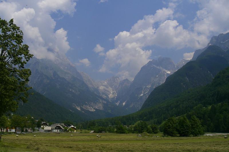 June 23, 2008 -  just south of Log pod Mangartom, Slovenia.<br /> <br /> On the D203 heading towards Passo del Predil on the Slovenian-Italian border.<br /> <br /> GPS<br /> N46° 24.187' E013° 35.945'