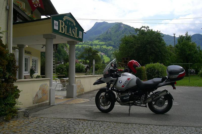 """June 11, 2008 - Familien-Gasthof Blasl, Losenstein, Austria.<br /> <br />  <a href=""""http://www.gasthof-blasl.at"""">http://www.gasthof-blasl.at</a><br /> <br /> GPS: N47 55.461 E14 25.863"""