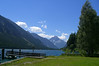 June 29, 2008 - Plansee, Austria.<br /> <br /> The view to the SW from the restaurant. The lake is located on the L255 about 11 kilometers east of Reutte, Austria.<br /> <br /> GPS<br /> N47° 29.146' E010° 50.184'