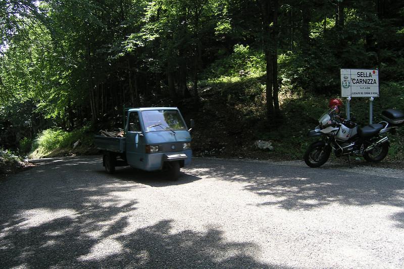 June 24, 2008 - Sella Carnizza, Italy.<br /> <br /> GPS<br /> N46° 20.180' E013° 19.211'