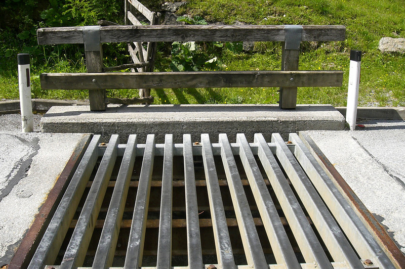 "June 20, 2008 - Sommeralm Landesstrasse, Austria.<br /> <br /> A close-up view of one of those metal bridges to watch out for when it is raining as they can be very slick.<br /> <br /> Maps<br /> Overview:  <a href=""http://edelweiss.smugmug.com/gallery/6490181_N8fw4#412089214_QTx96-O-LB"">http://edelweiss.smugmug.com/gallery/6490181_N8fw4#412089214_QTx96-O-LB</a><br /> Detail:  <a href=""http://edelweiss.smugmug.com/gallery/6490181_N8fw4#412089200_6gKcT-O-LB"">http://edelweiss.smugmug.com/gallery/6490181_N8fw4#412089200_6gKcT-O-LB</a>"