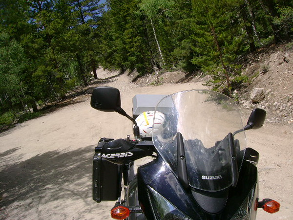 Thank God I made it very bad dirt rock road through Iron City Colorado