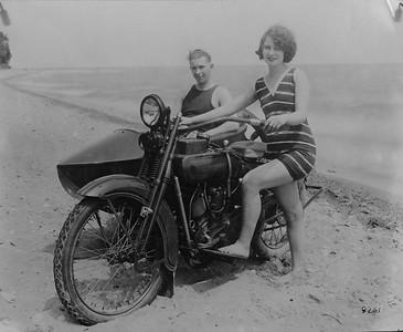 "Old school ""Girl Power"" motorcycle chicks"
