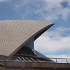 The next several shots are up close at the Opera House. Notice the texture of the roof.  They are like heat shield tiles on the space shuttle, really intricate up close.