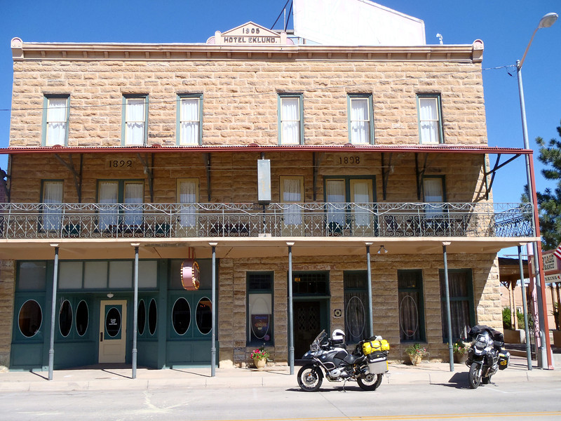 We were running out of gas so detoured to Clayton NM where we had a great breakfast at this late 1800's hotel.