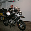 Didn't take a lot of shots as I was pushing to make it 1600 miles in 2.5 days.  Rode from eastern TX through Shreveport, Vicksburg, Tuscaloosa and Birmingham to Atlanta in about 12 hours.  This is me as I pulled in my garage at the end of the trip.  A little tired, but what a great ride.