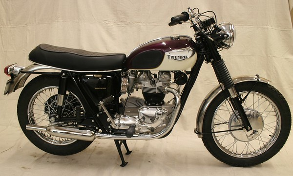 1967 Triumph T120R Bonneville (Wedlake)