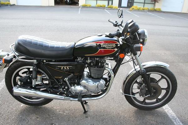 1983 Triumph T140W - last Triumph produced