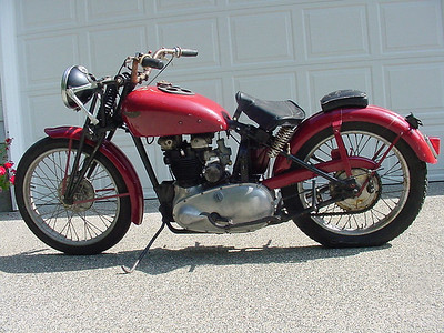 Terry Clark's 1938 Speed Twin