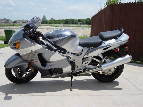 2003 Suzuki Hayabusa - the bike that started my long distance riding