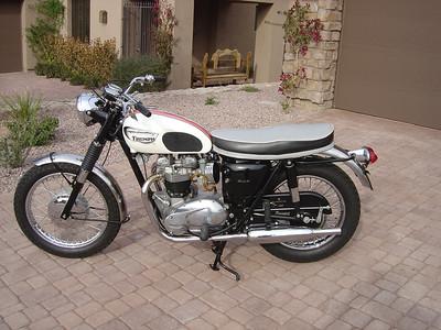 1966 Triumph Bonneville T120R bought LV, sold tucson