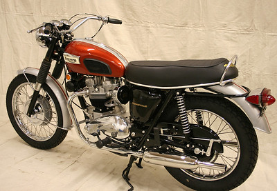 1969 T120R Bonneville  (Wedlake) sold to CA