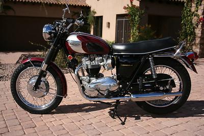 1970 Triumph Bonneville (Turner) sold
