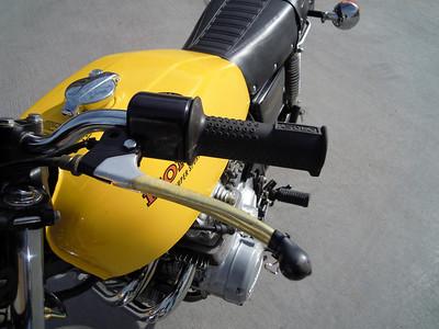 1976 Honda CB400F  sold LV