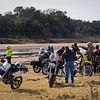 Sandy Creek.<br /> The riders seemed to multiply.