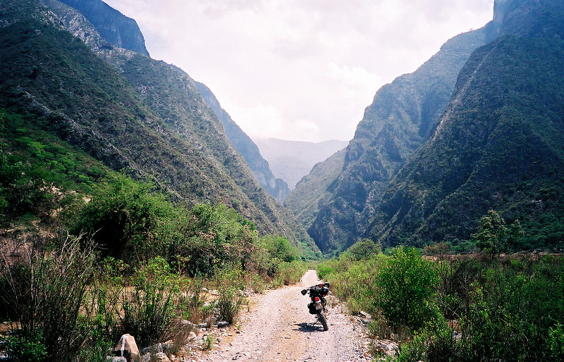 Canon San Juan Bautista headed towards Santa Cruz
