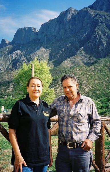 Raul & Rosaria, owners of La Sierra Rodeo (in San Juan Bautista) and Panales ranch