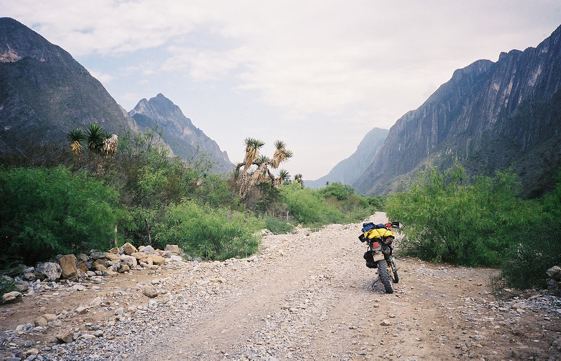 approaching El Pajonal