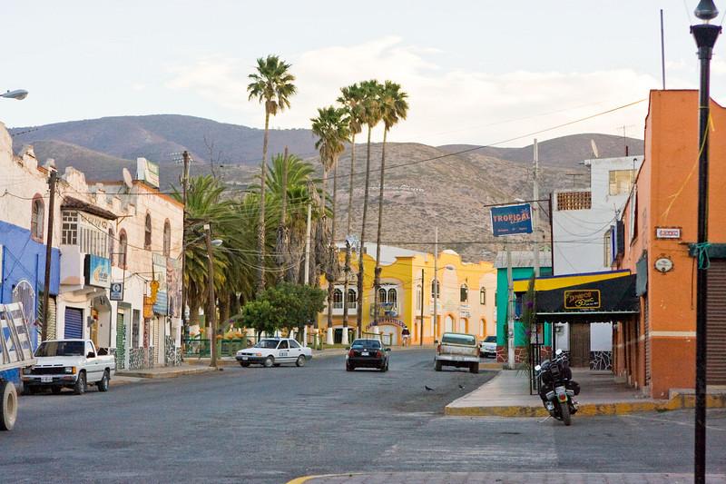 Downtown Zimapan