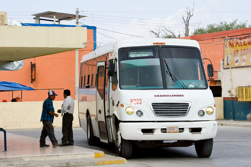 Bus station, San Buenaventura