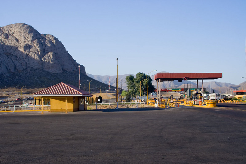 Cuota road, toll plaza, outside of Torreon