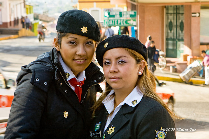 Traffic cops<br /> Jalapa, Mexico