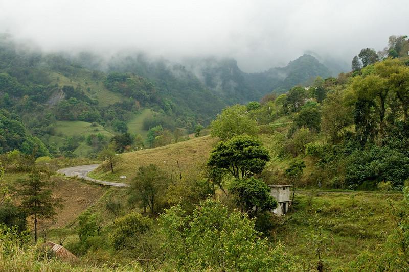 Hwy 105 south of Molongo
