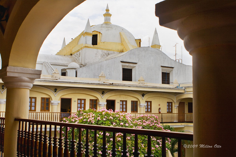 The Holiday Inn Centro, in central historic,Veracruz. A former convent