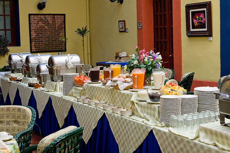 What a spread! Posada San Francisco, Tlaxcala