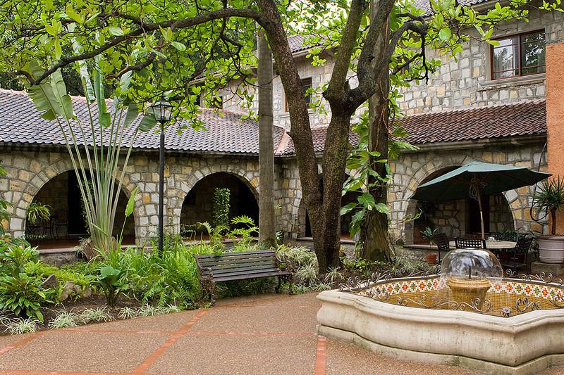 Reception area, Hotel Valles