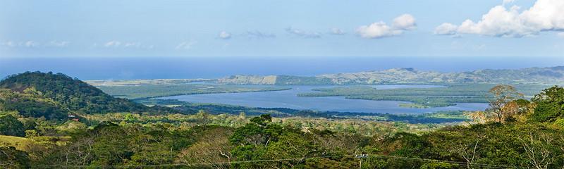 Laguna Sontecomapan and the Gulf of Mexico beyond