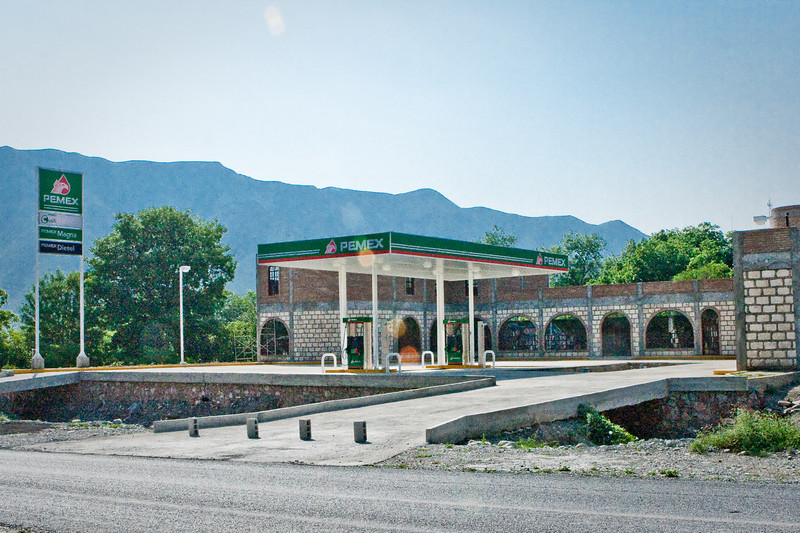 New Pemex outside Aramberi