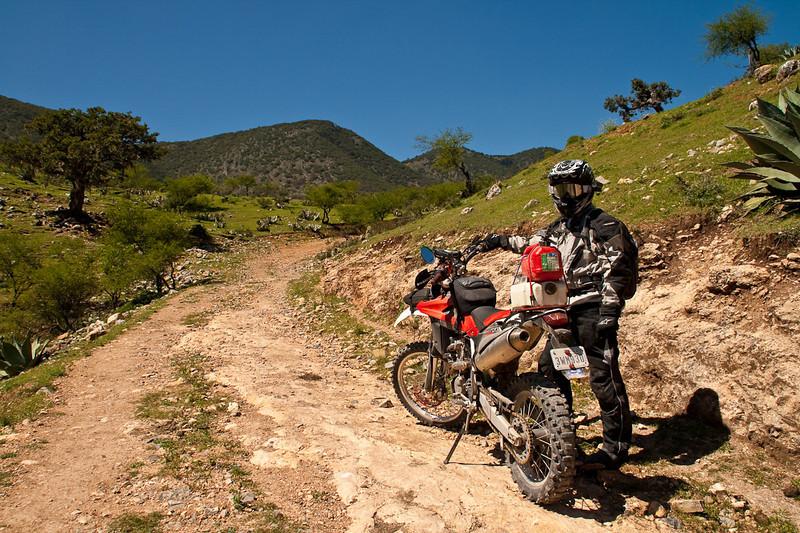 Our road out of Santa Inés. Jarrett.