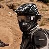 Notice the HD mini-cam on Jarrett's helmet. What a hoot.