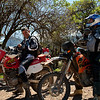 Roberto & Stingray Scott. <br /> By remarkable coincidence, while chatting with the gentlemen of La Encontada, Roberto and his group for the day pulled up coming from the opposite direction.