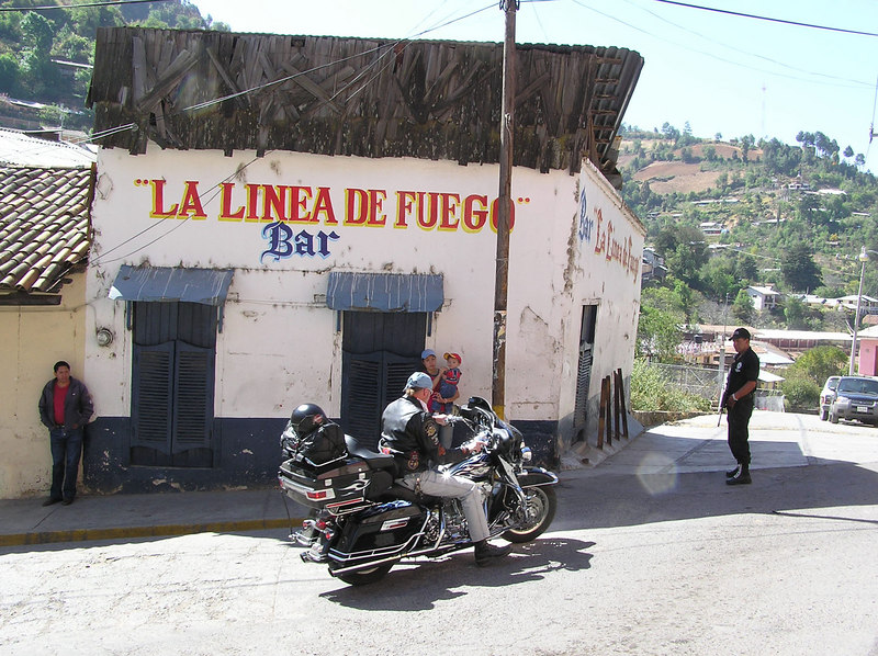 The Line of Fire<br /> Angangueo, Michoacan