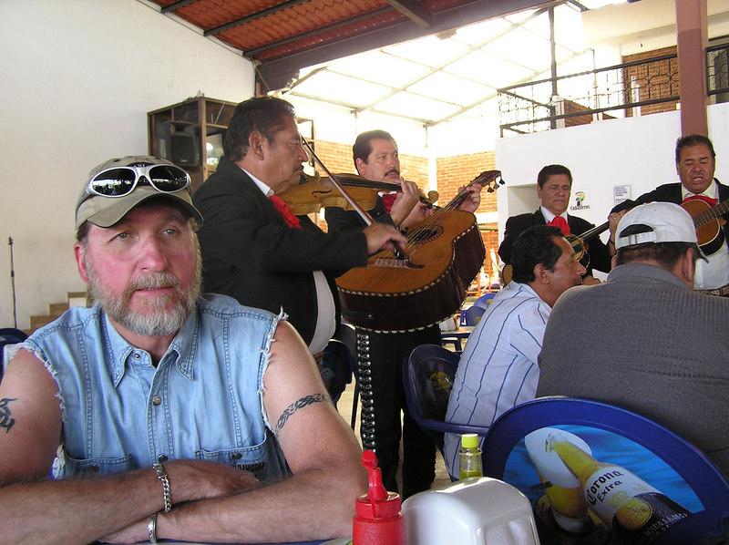 Lindo Michoacan Folklorico restaurant<br /> Uruapan, Michoacan