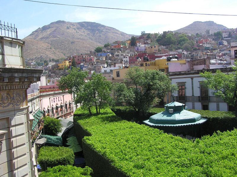 Main plaza, Guanajuato, Guanajuato