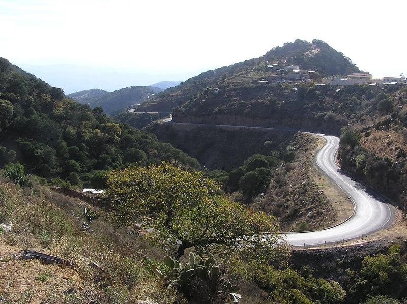 Jalpan to San Juan del Rio road